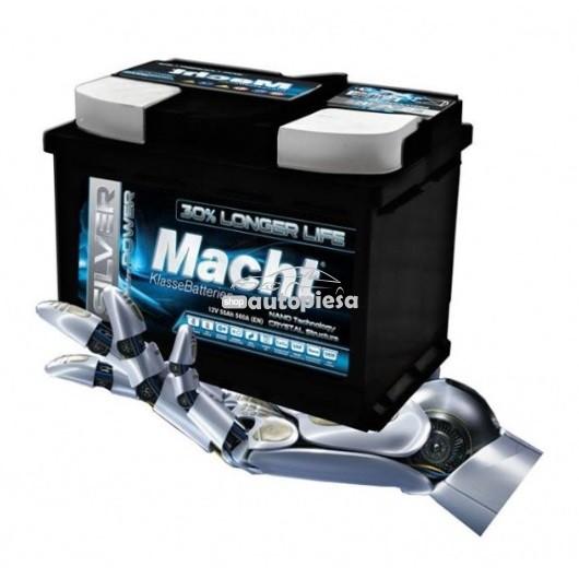 Acumulator baterie auto MACHT Silver Power 55 Ah 560A - GARANTIE 5 ANI