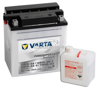 Acumulator baterie motociclete VARTA Powersports Freshpack 11 Ah 150A