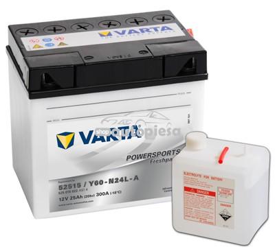 Acumulator baterie motociclete VARTA Powersports Freshpack 25 Ah 300A