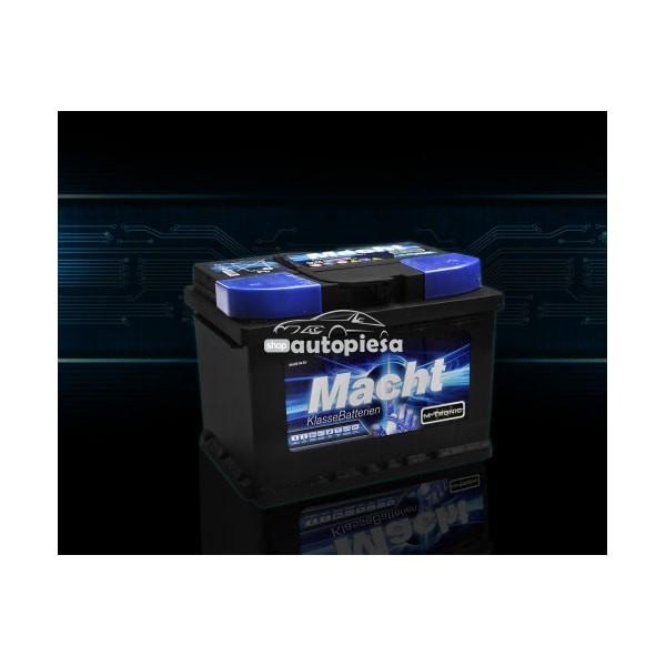 Acumulator baterie auto MACHT M-Tronic 56 Ah 500A - GARANTIE 3 ANI