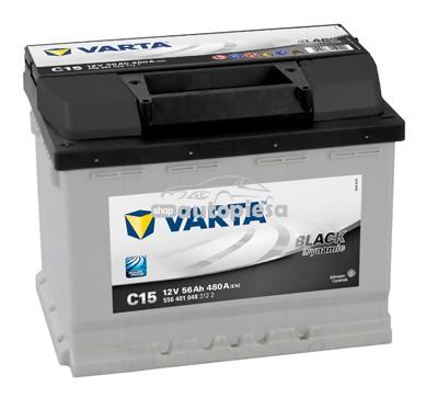 Acumulator baterie auto VARTA Black Dynamic 56 Ah 480A cu borne inverse