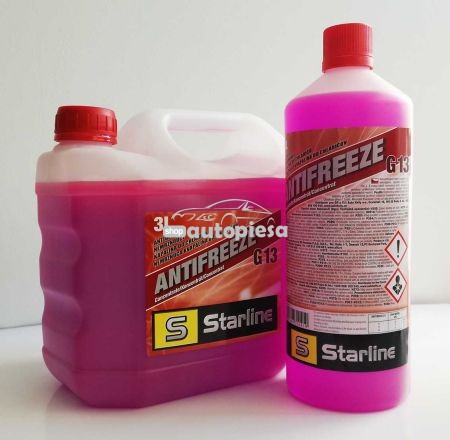 Antigel concentrat STARLINE G13 Rosu / Roz 1 L