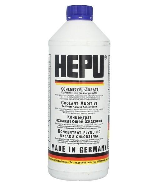 Antigel concentrat HEPU G11 Albastru 1.5 L