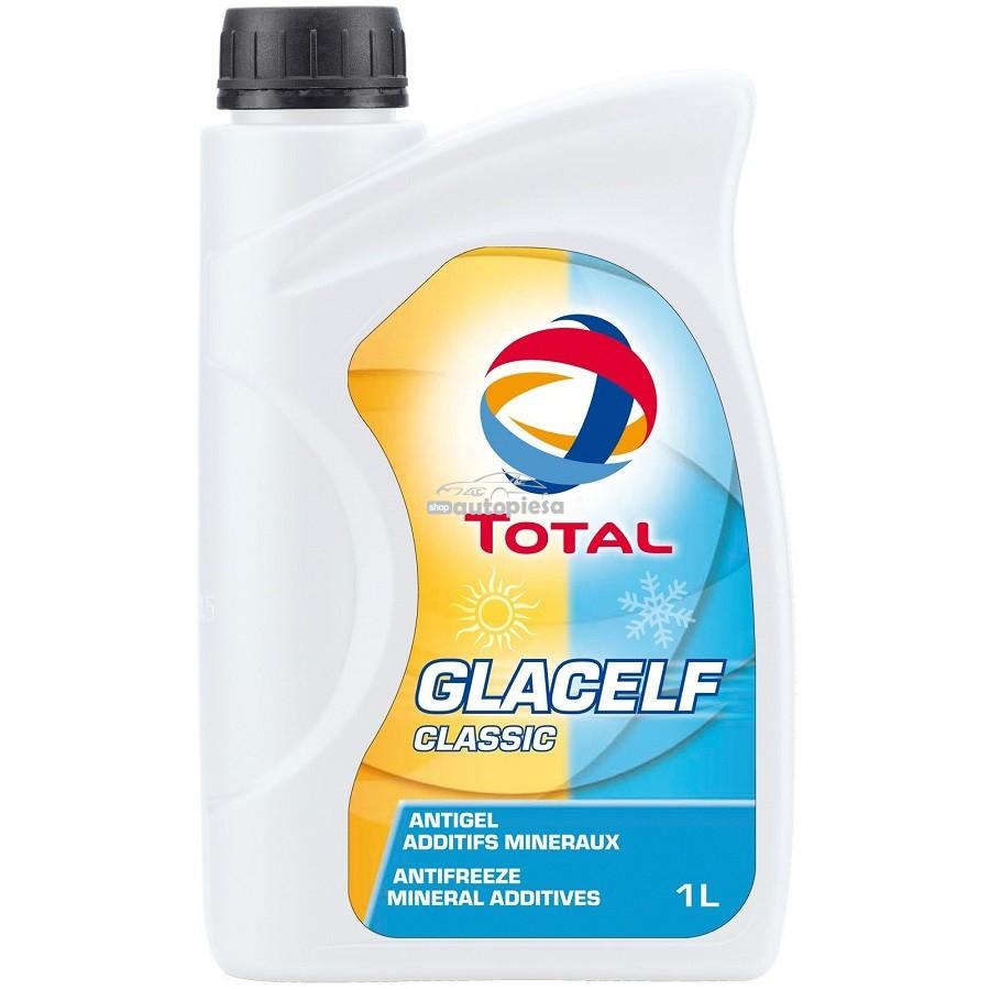 Antigel concentrat TOTAL Glacelf Classic G11 Albastru 1 L