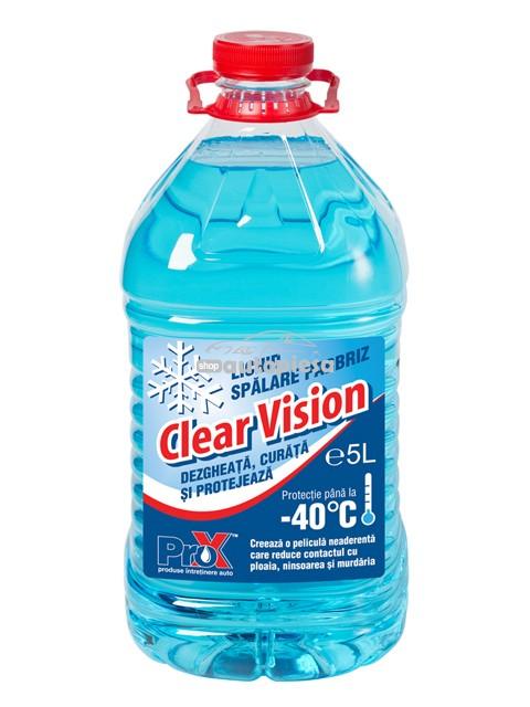 Lichid de parbriz iarna Clear Vision -40°C PRO-X 5L