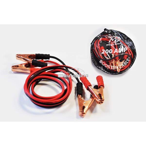 Cabluri pornire 200A 2.5 metri MEGA DRIVE