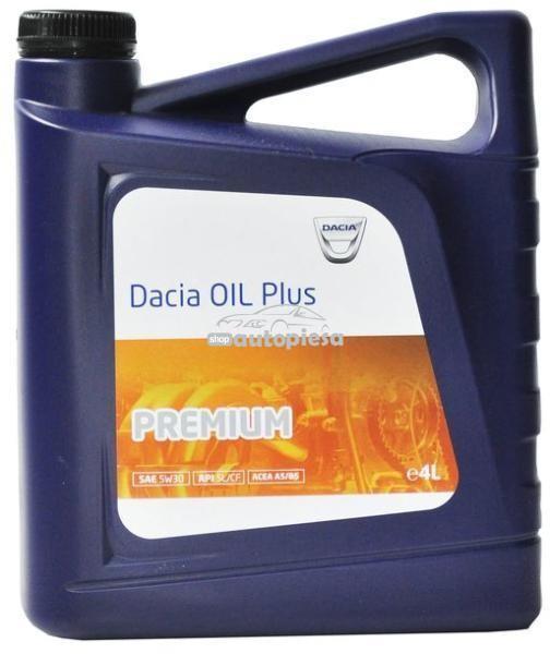 Ulei motor DACIA Oil Plus Premium 5W30 4 L