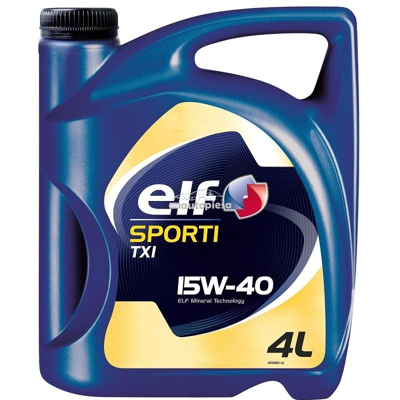 Ulei motor ELF Sporti TXI 15W40 4L