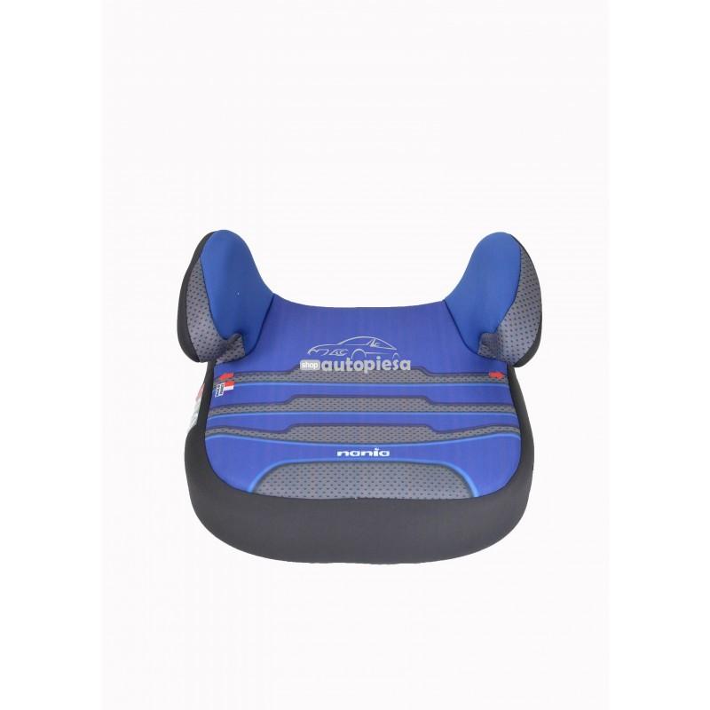 Inaltator auto pentru copii grupa 2-3 (3-12 ani / 15-36 kg) albastru Dream Plus Boomer Energy NANIA