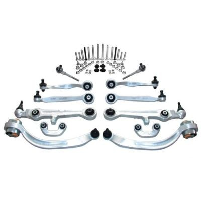 Kit brate suspensie / directie Audi A6 C6 / A6 Allroad (05.2004 - 08.2011) - 12 piese QWP