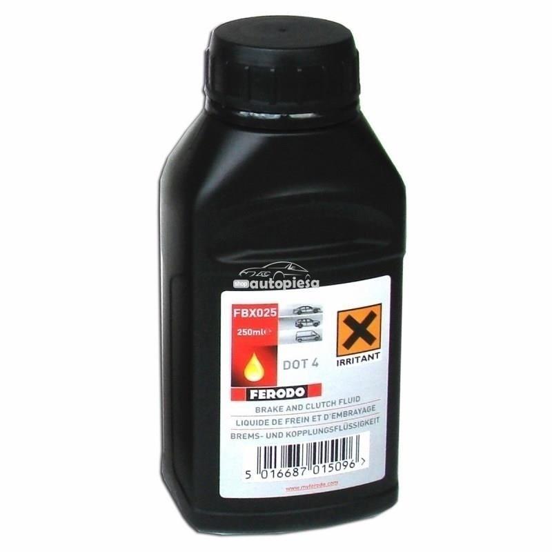 Lichid de frana FERODO DOT4 250 ML