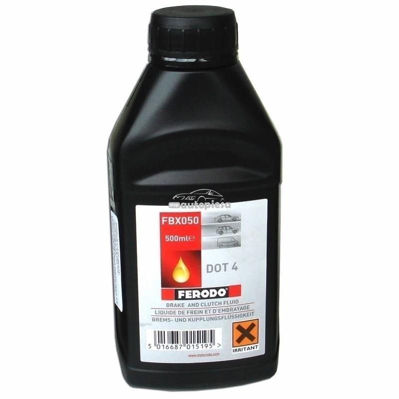 Lichid de frana FERODO DOT4 500 ML