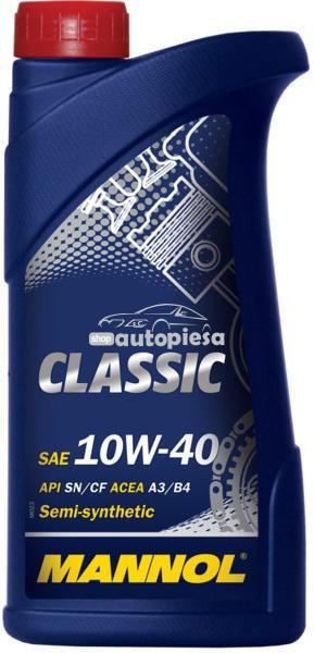 Ulei motor MANNOL Classic 10W40 1 L