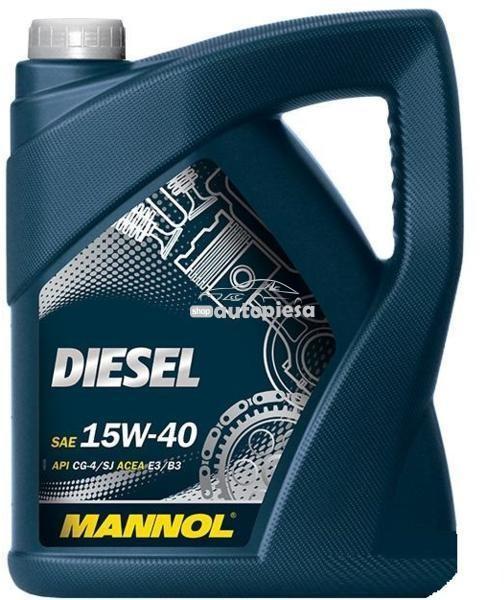 Ulei motor MANNOL Diesel 15W40 5 L