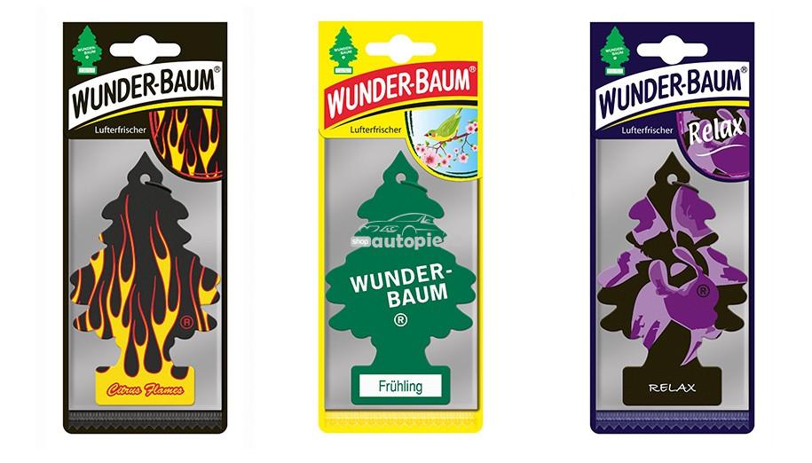 Odorizant auto Wunder Baum Bradut - diverse arome