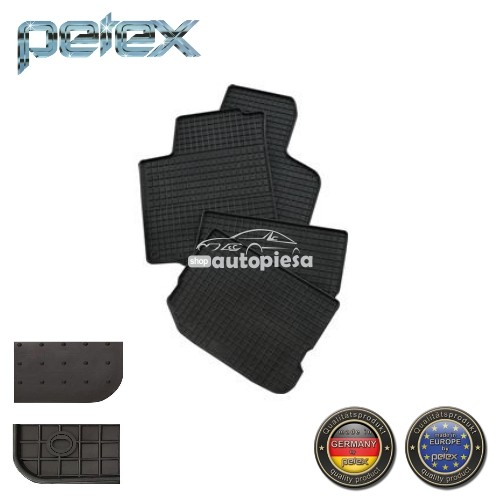 Covorase auto spate VW Caddy 3 III (04.04-08.10) PETEX