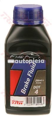 Lichid de frana TRW DOT4 250 ML