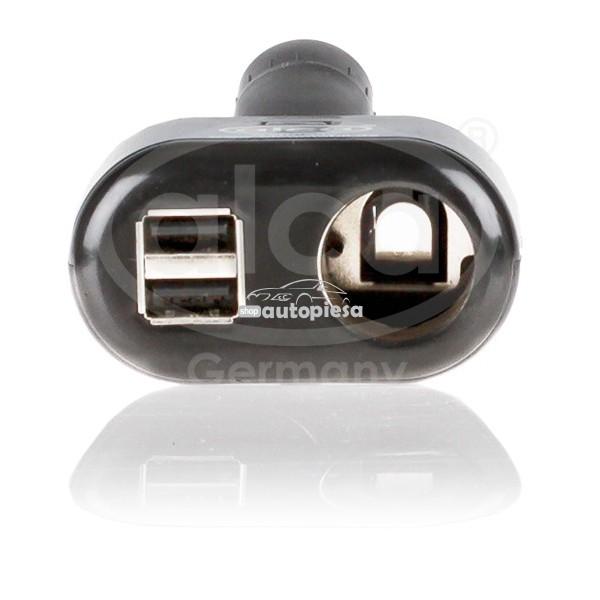 Splitter bricheta (1 bricheta + 2 x USB) ALCA