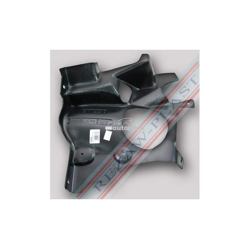 Scut plastic motor stanga Peugeot 206 fabricat in perioada 1998 - 2010