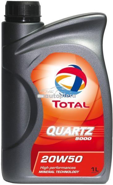 Ulei motor TOTAL Quartz 5000 Energy 20W50 1L