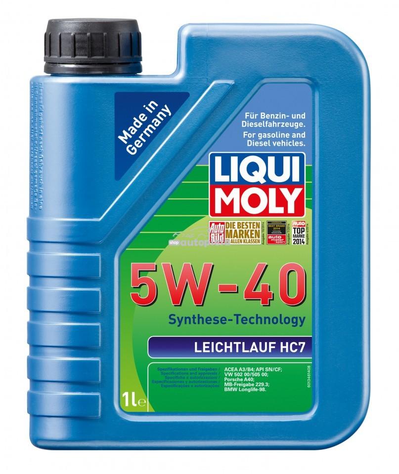 Ulei motor Liqui Moly Leichtlauf HC7 5W40 1L